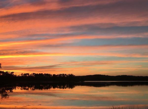 Sarah Bull Pelican Lake Sunset